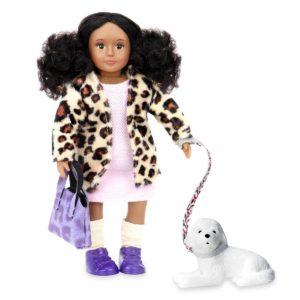 Stacie & Shyla | 6-inch Fashion Doll with Pet | Lori