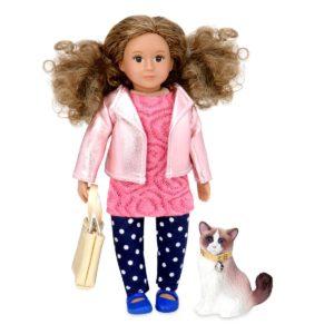 Denelle & Dash | 6-inch Fashion Doll with Pet | Lori