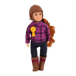 Samanda | 6-inch Equestrian Doll |Lori