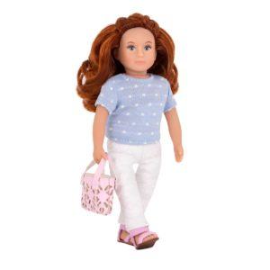 Saffron 6-inch Doll | Small Miniature Fashion Dolls | Lori Dolls