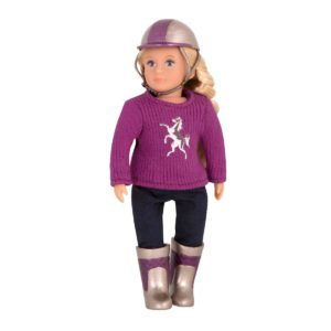 January 6-inch Doll | Small Miniature Riding Dolls | Lori Dolls
