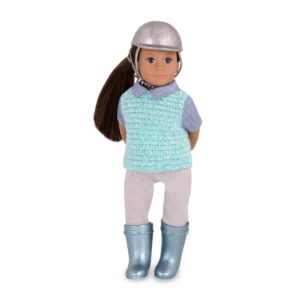 Maryse 6-inch Doll | Small Miniature Riding Dolls | Lori Dolls