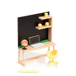 Home Workspace Set | Mini Doll Accessories | Lori®