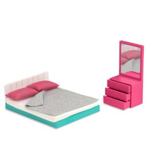 Cozy Bedroom Set | Mini Doll Accessories | Lori®