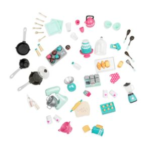 Mix & Bake Set | Mini Doll Accessories | Lori®