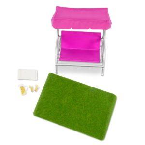 Garden Patio Set | Mini Doll Accessories | Lori®