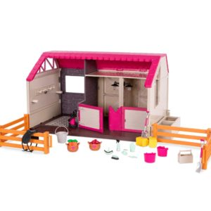 Horse Haven | Equestrian Playset for 6-inch Dolls | Lori