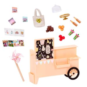 Take-Away Treat Cart | Mini Doll Accessories | Lori®