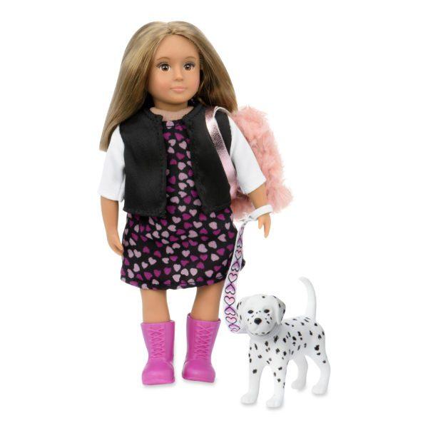 Gia & Gunner | Mini Doll & Pet | Lori®