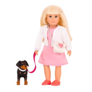 Nadine & Nix | Mini Doll & Pet | Lori®