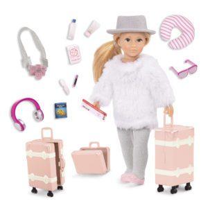 Leighton's Travel Set | 6-inch Fashion Doll | Lori®