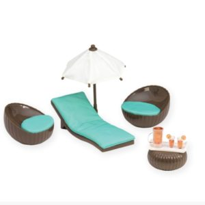 Rooftop Patio Set | Mini Doll Accessories | Lori®