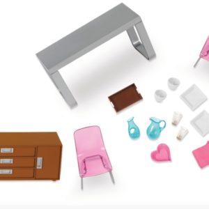 Moderna Dining Set | Mini Doll Accessories | Lori®