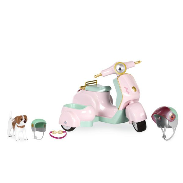 Let's Go for a Spin Scooter | Mini Doll Accessories | Lori®