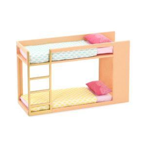 Urban Chic Bunk Bed | Mini Doll Accessories | Lori®