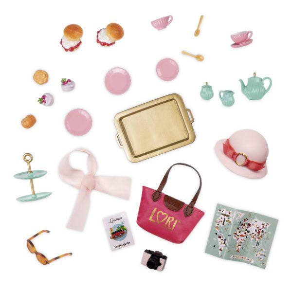 Smitten in Britain   Mini Doll Accessories   Lori®