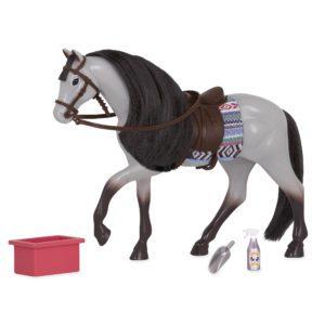 Blue Roan Horse | Mini Doll Accessories | Lori®